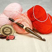 Материалы для творчества handmade. Livemaster - original item Crochet hook 9#98. Handmade.