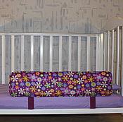Для дома и интерьера ручной работы. Ярмарка Мастеров - ручная работа Защитный бортик для кроватки. Handmade.