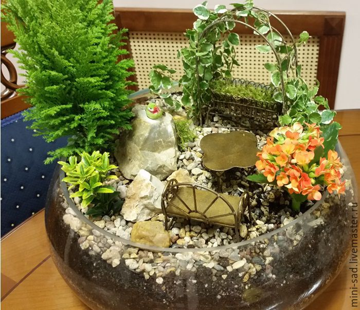 Mini Garden Good Morning Shop Online On Livemaster With