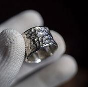 Украшения handmade. Livemaster - original item Textured silver. Handmade.