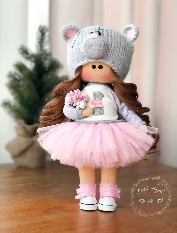 Кукла текстильная интерьерная, Куклы и пупсы, Москва,  Фото №1