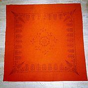 Русский стиль handmade. Livemaster - original item Maiden`s handkerchief with a print