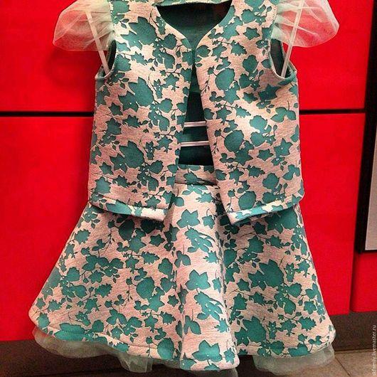 Одежда для девочек, ручной работы. Ярмарка Мастеров - ручная работа. Купить Костюм для девочки. Handmade. Детская одежда, неопрен