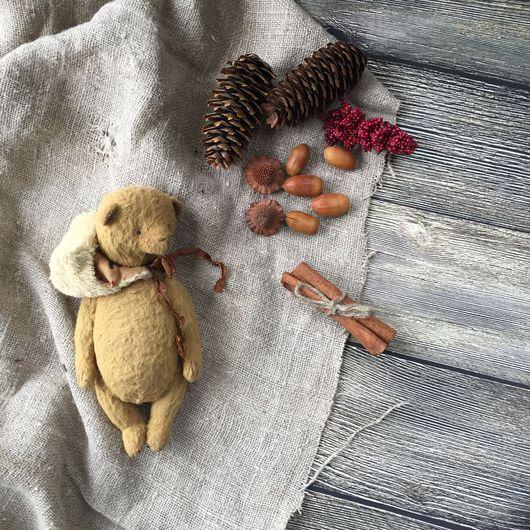 Мишки Тедди ручной работы. Ярмарка Мастеров - ручная работа. Купить Мишка. Handmade. Бежевый, коллекционные медведи, teddy bear