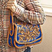 handmade. Livemaster - original item Leather women`s bag