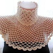 """Аксессуары handmade. Livemaster - original item Openwork wide collar """"Charm"""". Exclusive!. Handmade."""