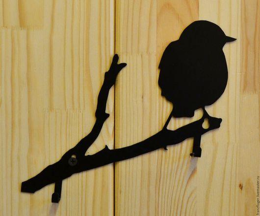 """Прихожая ручной работы. Ярмарка Мастеров - ручная работа. Купить Вешалка """"Птичка на ветке"""". Handmade. Вешалка, интерьер, декор для интерьера"""