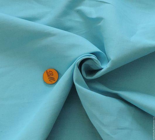 Шитье ручной работы. Ярмарка Мастеров - ручная работа. Купить ткань лен Голубой. Handmade. Лён натуральный, ткань лен
