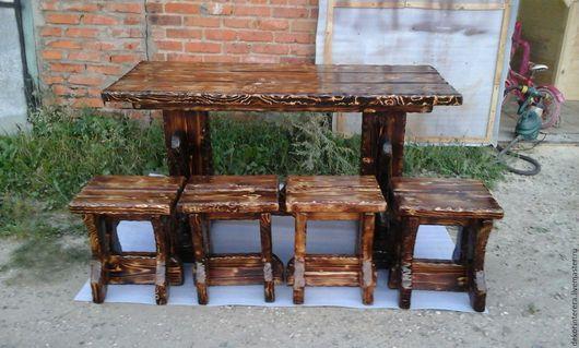 Мебель ручной работы. Ярмарка Мастеров - ручная работа. Купить Деревянная мебель под старину из дерева. Handmade. Деревянная мебель