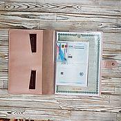 Папки ручной работы. Ярмарка Мастеров - ручная работа Органайзер для документов. Handmade.