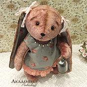 """Куклы и игрушки ручной работы. Ярмарка Мастеров - ручная работа Зайка тедди """"Варя"""". Handmade."""