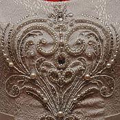 Свадебный салон ручной работы. Ярмарка Мастеров - ручная работа Вышивка на платье.. Handmade.