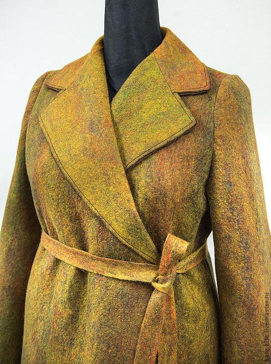классическое валяное пальто