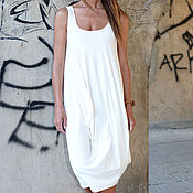 Одежда handmade. Livemaster - original item Summer cotton dress, Short dress - DR0172JE. Handmade.
