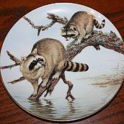 Винтаж handmade. Livemaster - original item Charming plates series