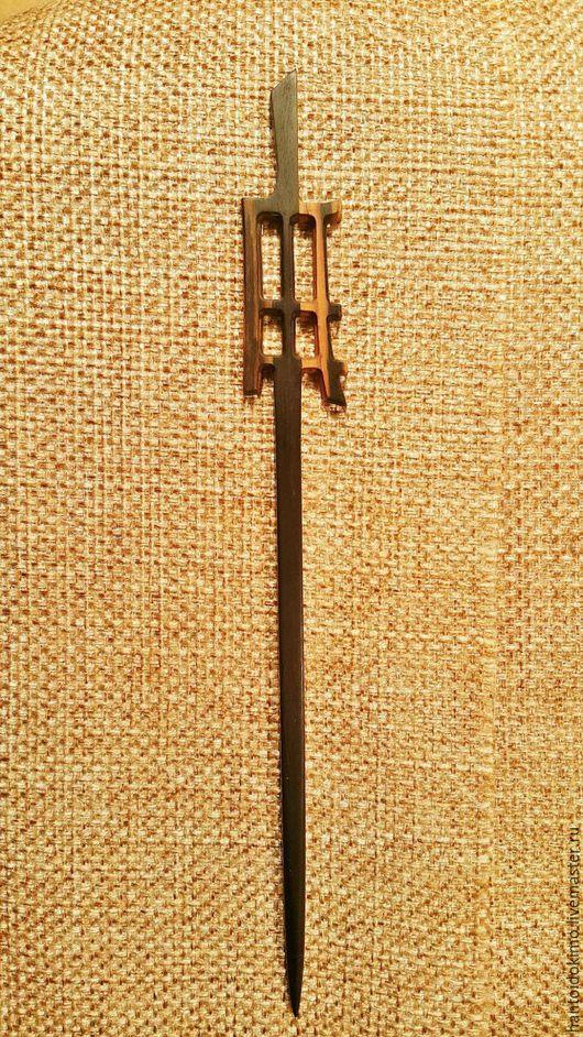 Заколки ручной работы. Ярмарка Мастеров - ручная работа. Купить Палочка Дзен, черное эбеновое дерево. Handmade. Черный, масло