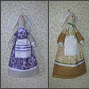 Куклы и игрушки ручной работы. Ярмарка Мастеров - ручная работа Зайка пакетница 2. Handmade.