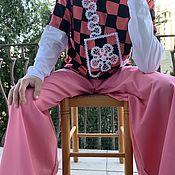 Одежда handmade. Livemaster - original item Jeans: Pink Dream Jeans. Handmade.
