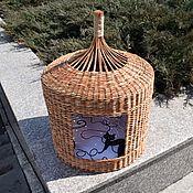 Зоотовары handmade. Livemaster - original item Cat house, yurt house. Handmade.