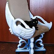 """Для дома и интерьера ручной работы. Ярмарка Мастеров - ручная работа резное компьютерное кресло """"Лебедь"""". Handmade."""