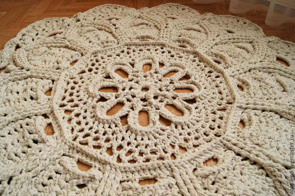 Вязание ковров крючком все 132