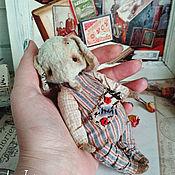 Мягкие игрушки ручной работы. Ярмарка Мастеров - ручная работа Слонька. Handmade.