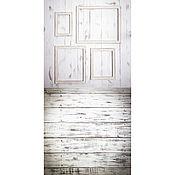 """Атрибутика ручной работы. Ярмарка Мастеров - ручная работа Фотофон """"Светлая комнатка с рамками"""" #97. Handmade."""