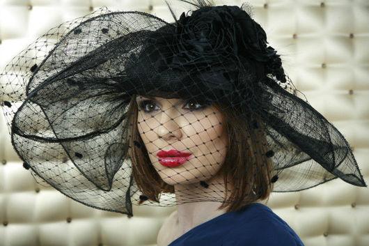Шляпы ручной работы. Ярмарка Мастеров - ручная работа. Купить Шляпа. Handmade. Скачки, шляпы с широкими полями, вечерняя шляпка