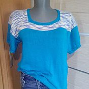 Одежда handmade. Livemaster - original item Summer pullover. Handmade.