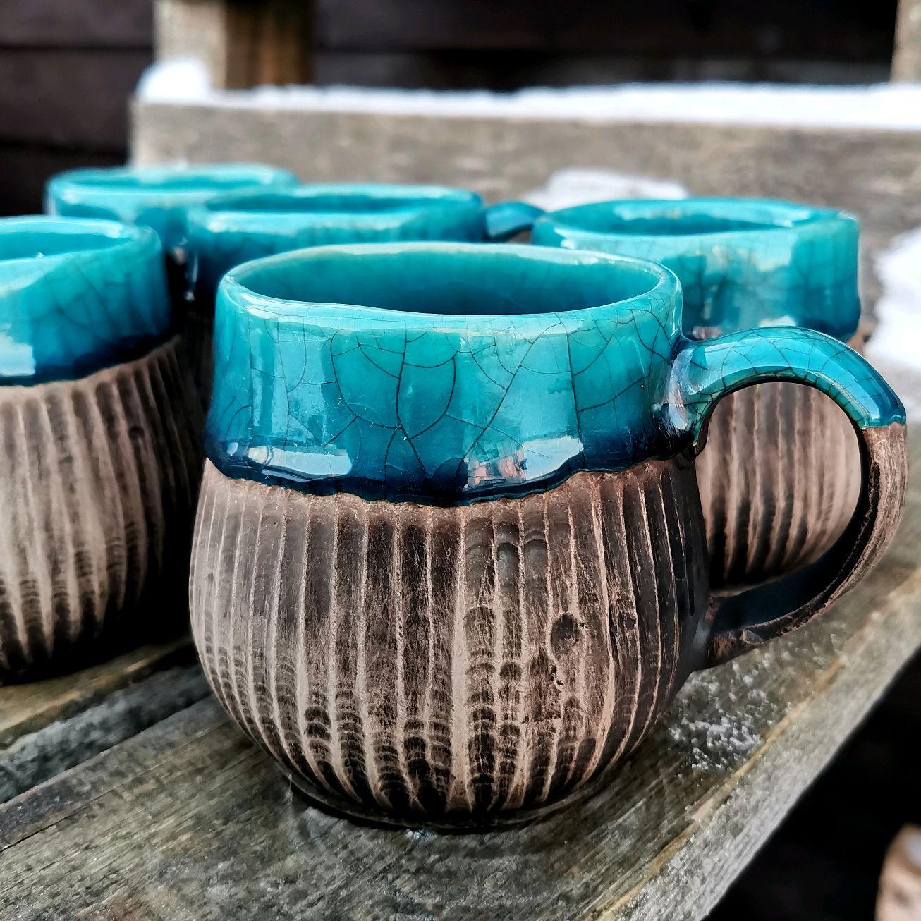 красивые большие кружки для чая