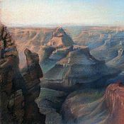 """Картины и панно ручной работы. Ярмарка Мастеров - ручная работа Картина """"Большой Каньон Колорадо"""". Handmade."""