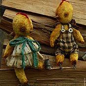 Куклы и игрушки ручной работы. Ярмарка Мастеров - ручная работа !!!!SALE!!!! Кира и Митя. Handmade.