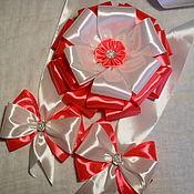 Работы для детей, handmade. Livemaster - original item The bow on the extract for girls. Handmade.