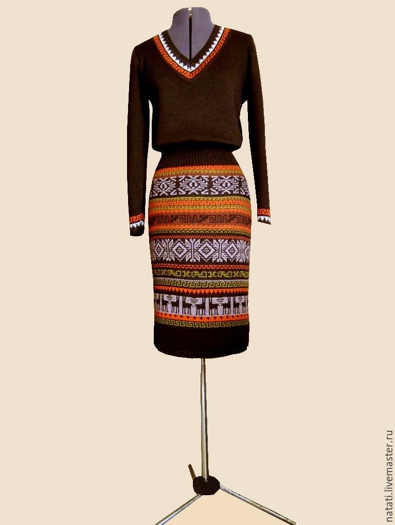 Юбка и свитер с доставкой