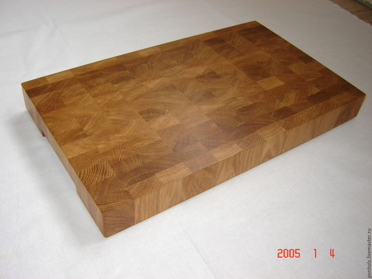 Кухня ручной работы. Ярмарка Мастеров - ручная работа. Купить торцевая разделочная доска 300х500х50. Handmade. Коричневый, подарок