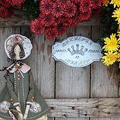Куклы и игрушки ручной работы. Ярмарка Мастеров - ручная работа кукла тильда ручной работы ОСЕНЬ. Handmade.
