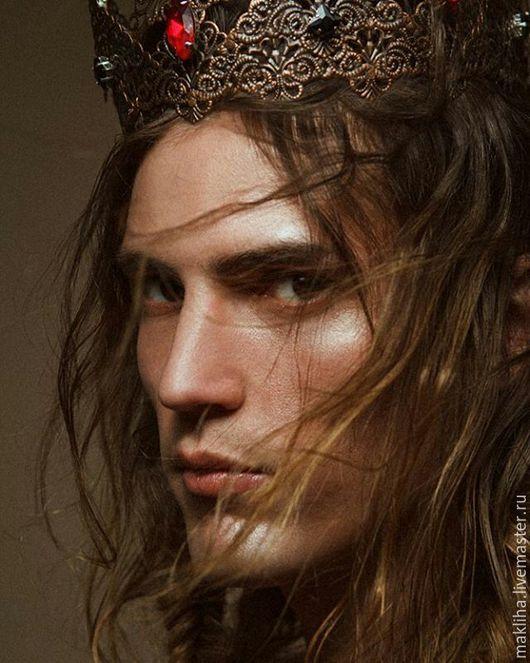 Диадемы, обручи ручной работы. Ярмарка Мастеров - ручная работа. Купить Корона для фотосессии, мужская корона, корона унисекс. Handmade.