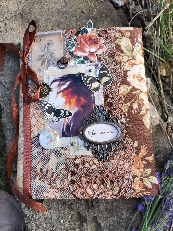 """Копия работы: Блокнот ручной работы """"  Идеи мастера  ."""", Блокноты, Самара,  Фото №1"""