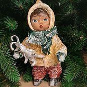 Кукольный театр ручной работы. Ярмарка Мастеров - ручная работа Ватная игрушка на праздник. Handmade.