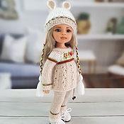 Куклы и игрушки handmade. Livemaster - original item Clothes for Paola Reina dolls. Cream set with ears.. Handmade.