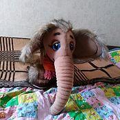 Куклы и игрушки handmade. Livemaster - original item Mammoth. Tablet puppets.. Handmade.