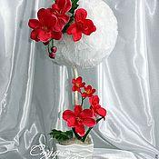 """Цветы и флористика ручной работы. Ярмарка Мастеров - ручная работа Топиарий """"Гавайи"""". Handmade."""