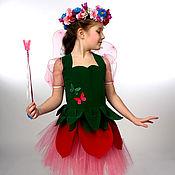 Работы для детей, ручной работы. Ярмарка Мастеров - ручная работа Цветочная фея (карнавальный костюм). Handmade.
