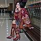 Пиджаки, жакеты ручной работы. Сюртук с капюшоном. Bukhara-craft. Интернет-магазин Ярмарка Мастеров. Туника, осенняя мода, костюм