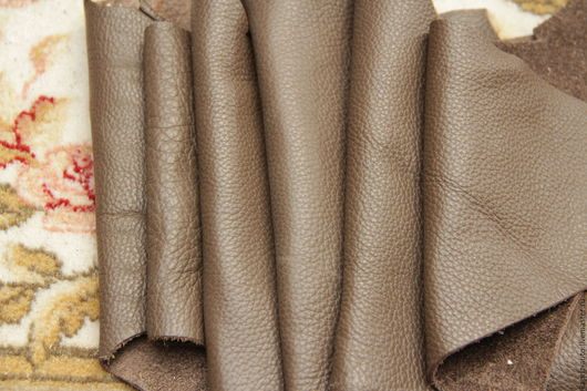 Шитье ручной работы. Ярмарка Мастеров - ручная работа. Купить №6.5 Коричневый  1637 грамм.2мм.Натуральная кожа. Handmade.