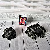 Одежда для кукол ручной работы. Ярмарка Мастеров - ручная работа Портфель для куклы. Handmade.