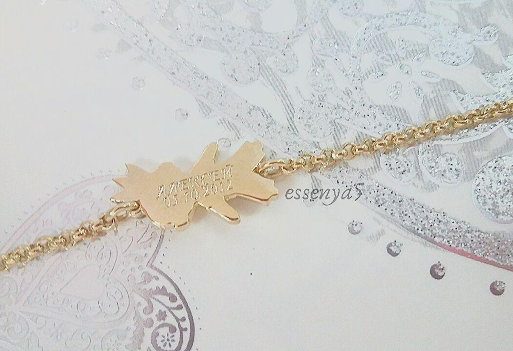 Золотой браслет для мамы мальчик принц
