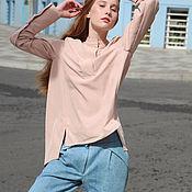 Блузки ручной работы. Ярмарка Мастеров - ручная работа Сорочка с вышивкой на спинке. Handmade.