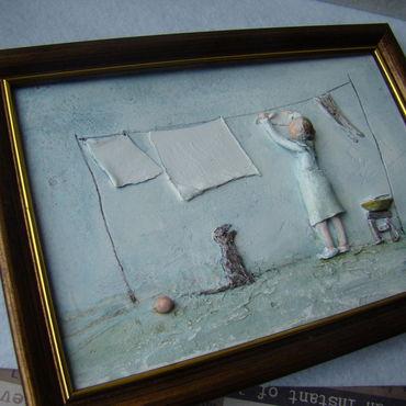 """Картины и панно ручной работы. Ярмарка Мастеров - ручная работа """"Ветер"""". Handmade."""