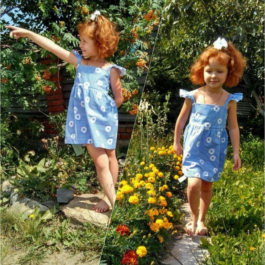 Одежда для девочек, ручной работы. Ярмарка Мастеров - ручная работа. Купить Платье детское. Handmade. Платье детское шитое, скидки